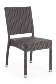 Krzesło ogrodowe ASTON - grafitowy