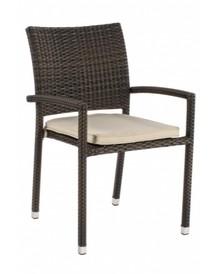 Krzesło ogrodowe QUICK BROWN