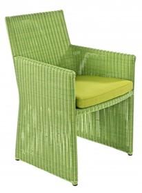 Krzesło ogrodowe ABIGAIL - zielony