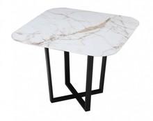 Kwadratowy stół z ceramicznym blatem ROSSK