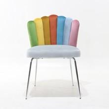 Krzesło PEARL - wielokolorowy