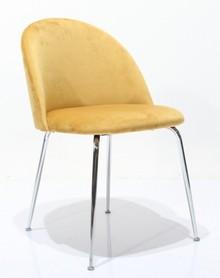Krzesło na metalowych nogach BLEMO