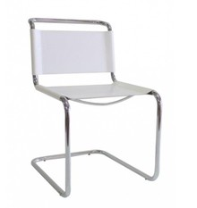 Krzesło skórzane STEM