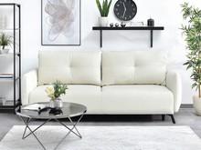 Sofa z funkcją spania LULU - kremowy