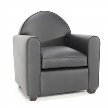 Fotel skórzany END
