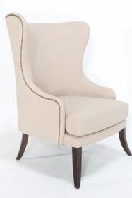 Fotel z ozdobnymi nitami BLUC