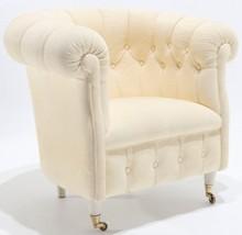 Fotel pikowany MOIR