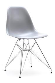 Lekkie krzesło do kuchni mpc rod szare