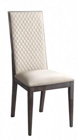 Krzesło z drewnianym oparciem MEDEA