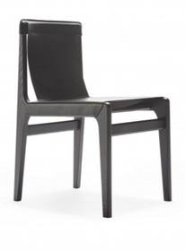 Designerskie drewniane krzesło burano do jadalni I salonu