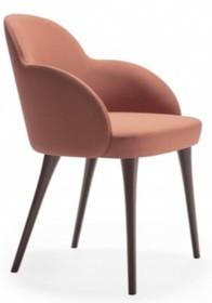 Elegancki fotel giulia do jadalni, salonu, biura, gabinetu