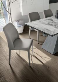 Vienna krzesło do jadalni tapicerowane