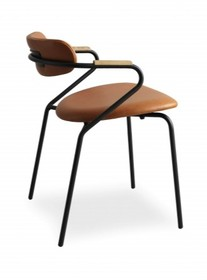 Designerskie krzesło linea/i do jadalni, restauracji, kuchni