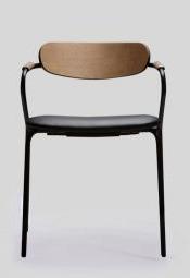 Eleganckie krzesło linea/s do jadalni, restauracji, kuchni