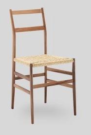 Drewniane krzesło Piuma ZE SŁOMIANYM SIEDZISKIEM DO JADALNI, KUCHNI, SALONU