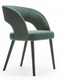 Nowoczesne krzesło ring/m z metalowymi nogami do jadalni I salonu