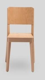 Nowoczesne drewniane krzesło stealth do jadalni I salonu