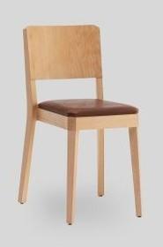 Eleganckie drewniane krzesło stealth/l do jadalni I salonu