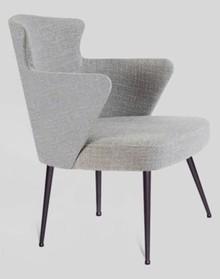 Fotel TRILOGY/M z metalową podstawą