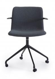 Fotel URBAN z metalową podstawą na kółkach
