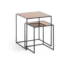 Elegancki zestaw stolików TESU