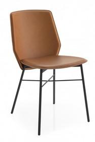 Krzesło skórzane SIBILLA