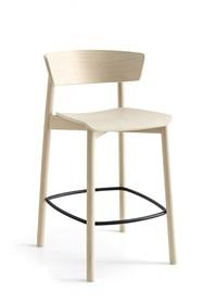 Hoker drewniany CLELIA H65 cm