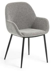 Krzesło NAKON - jasnoszare