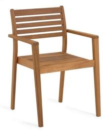 Drewniane krzesło ogrodowe ZELAN