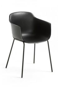 Krzesło z polipropylenu SUMIKHA - czarny