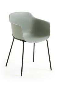 Krzesło z polipropylenu SUMIKHA - szary