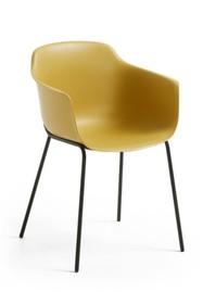 Krzesło z polipropylenu SUMIKHA - żółty