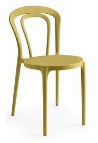 Krzesło outdoorowe z tworzywa CAFFE