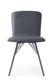 Krzesło z ekoskóry EMMA