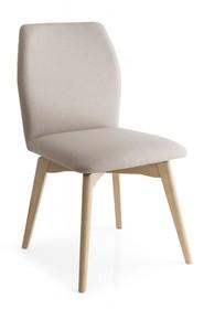 Krzesło na drewnianych nogach HEXA