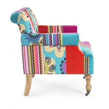 Fotel tapicerowany FAUSTIN