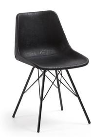 Krzesło GRANDLE - czarne