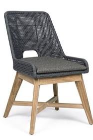 Krzesło do ogrodu HESPERIA - szary