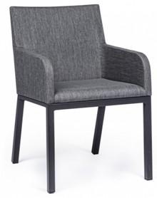 Fotel z podłokietnikami ANTRACITE