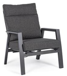 Fotel ogrodowy ANTRACITE