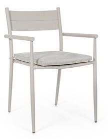 Krzesło do ogrodu KENDALL - beżowy