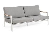 Sofa do ogrodu JALISCO - jasnoszary