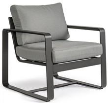 Fotel ogrodowy MERRIGAN - szary