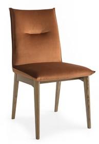 Krzesło na prostych nogach MAYA