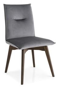 Krzesło na drewnianych nogach MAYA
