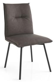 Krzesło obrotowe na prostych nogach MAYA