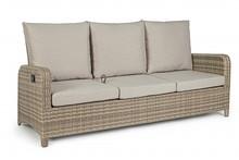 Sofa ogrodowa 3-osobowa KENT - beżowy