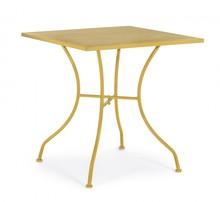 Stół ogrodowy KELSIE - żółty