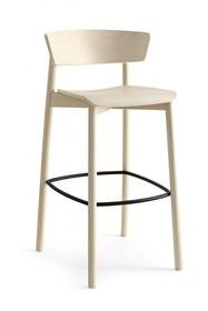 Hoker drewniany CLELIA H75 cm