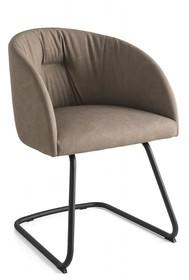 Krzesło na płozie ROSIE SOFT